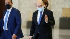 French foreign minister tries to break Lebanese govt deadlock