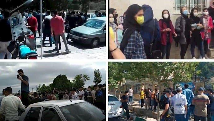 اعتراضات دانش آموزان ایران
