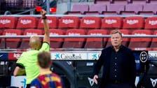 كومان ينتقد عقوبته قبل قمة أتلتيكو مدريد