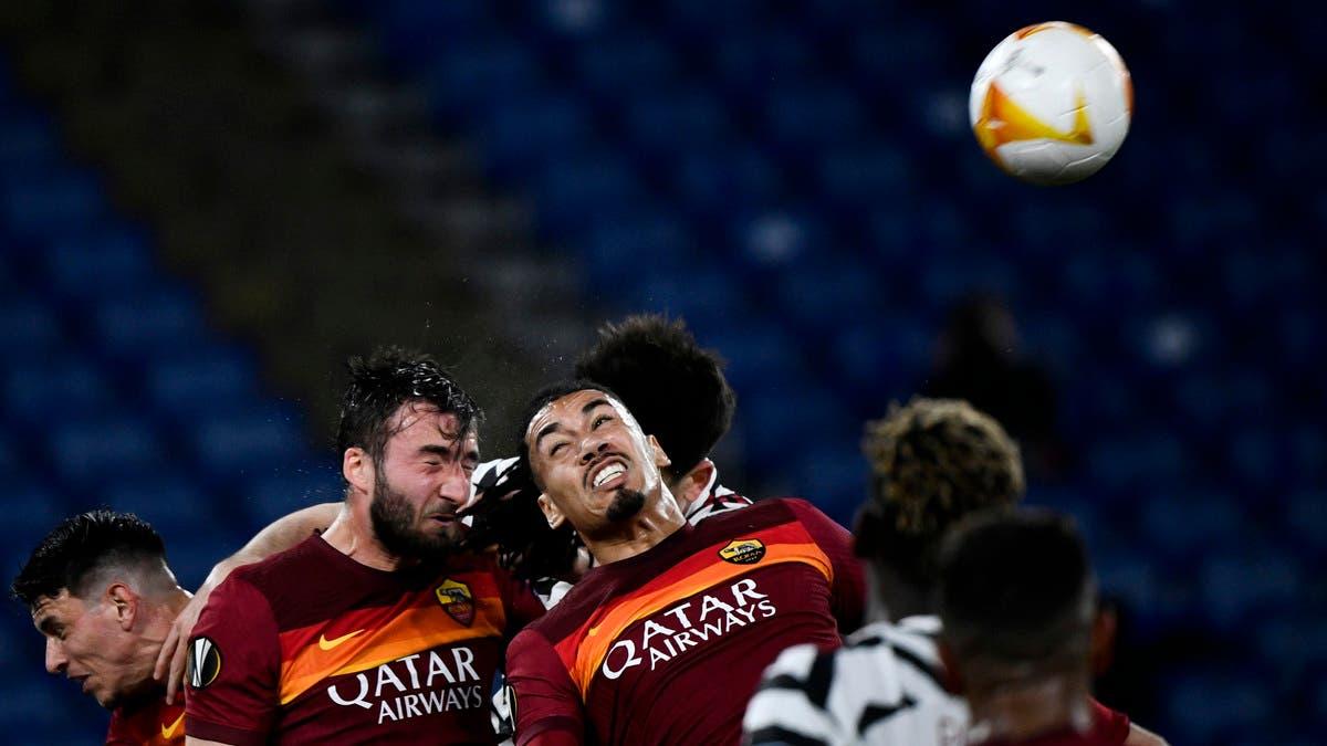 مانشستر يونايتد يخسر أمام روما ويبلغ نهائي الدوري الأوروبي