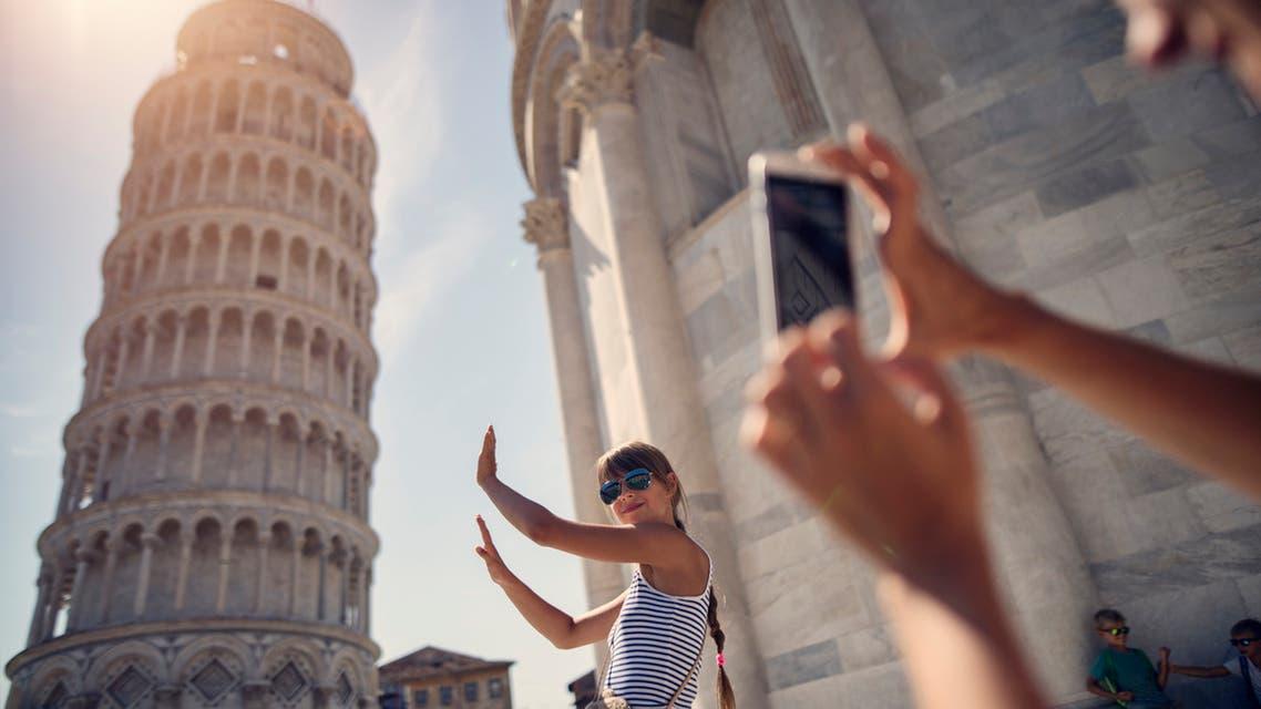 برج Pisa في إيطاليا