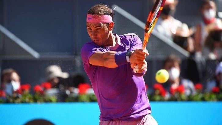 تنیس آزاد مادرید؛ صعود آسان نادال به یک چهارم نهایی