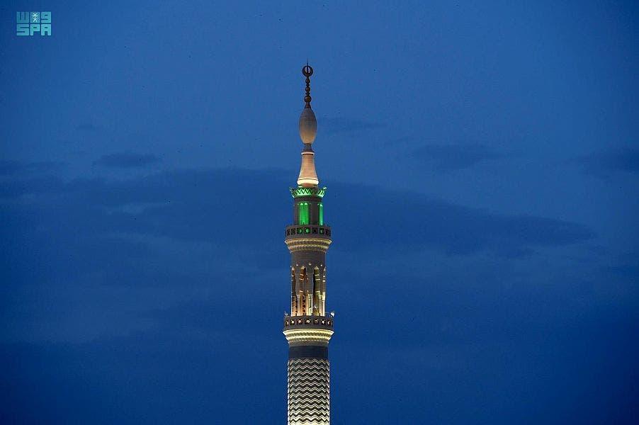 مآذن المسجد النبوي 1