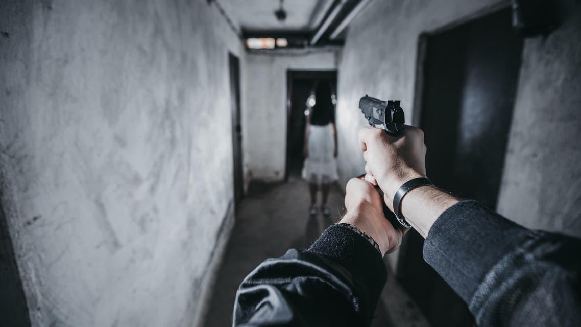 إطلاق نار مسدس