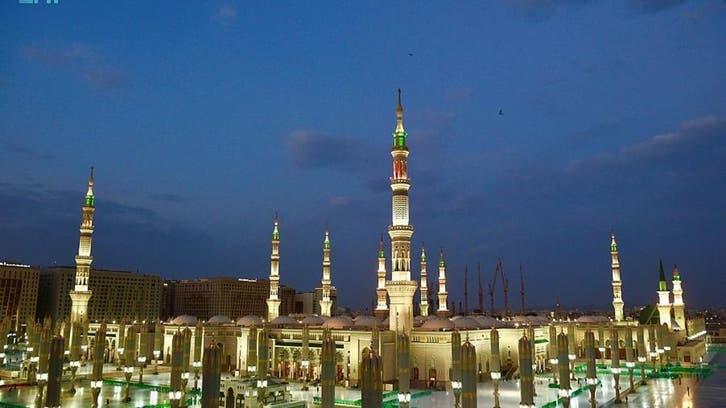 مسجد نبویﷺ کے خوبصورت میناراسلامی فن تعمیر کے شاہ کار