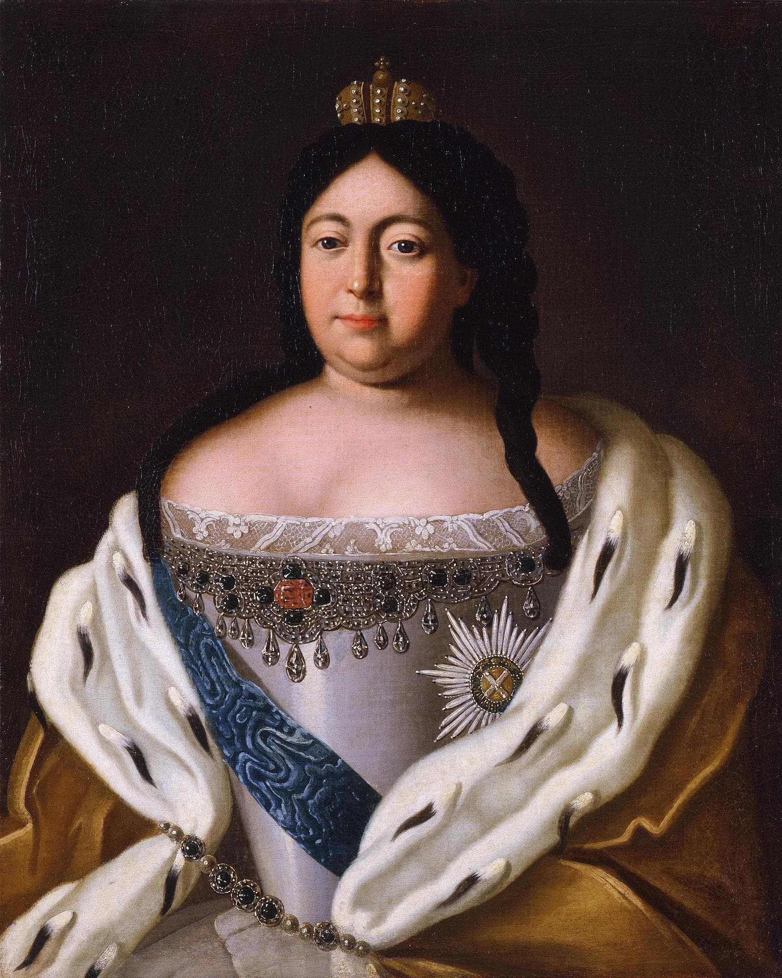 لوحة تجسد الإمبراطورة آنا