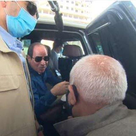 شاهدالسيسي إلى مسن مصري: لا تبك.. وعيوني لك