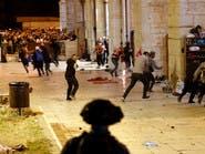 صدامات المسجد الأقصى توقع 175 جريحاً.. إدانات عربية ودولية