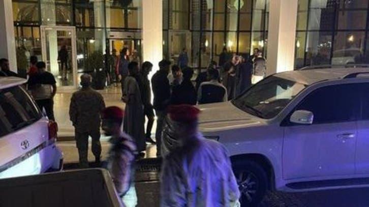 هجوم افراد مسلح به هتل محل اقامت شورای ریاست جمهوری لیبی