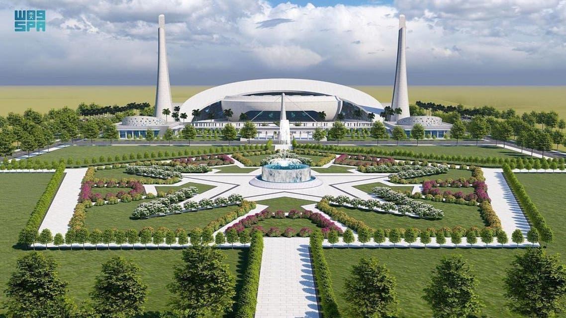 مشروع جامع خادم الحرمين في الجامعة الإسلامية العالمية بباكستان