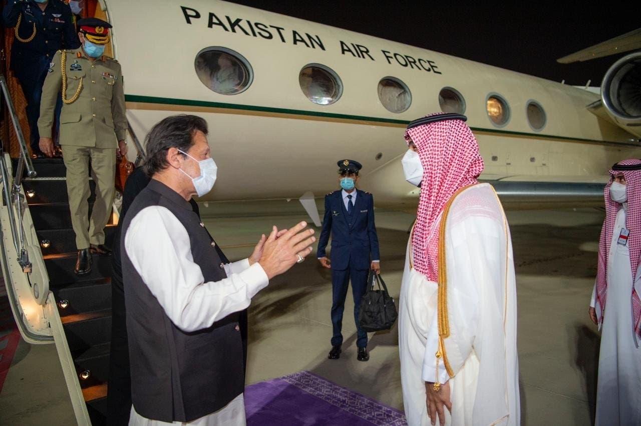 محمد بن سلمان عمران خان