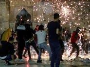 اشتباكات مستمرة في القدس وإطلاق قذائف من غزة