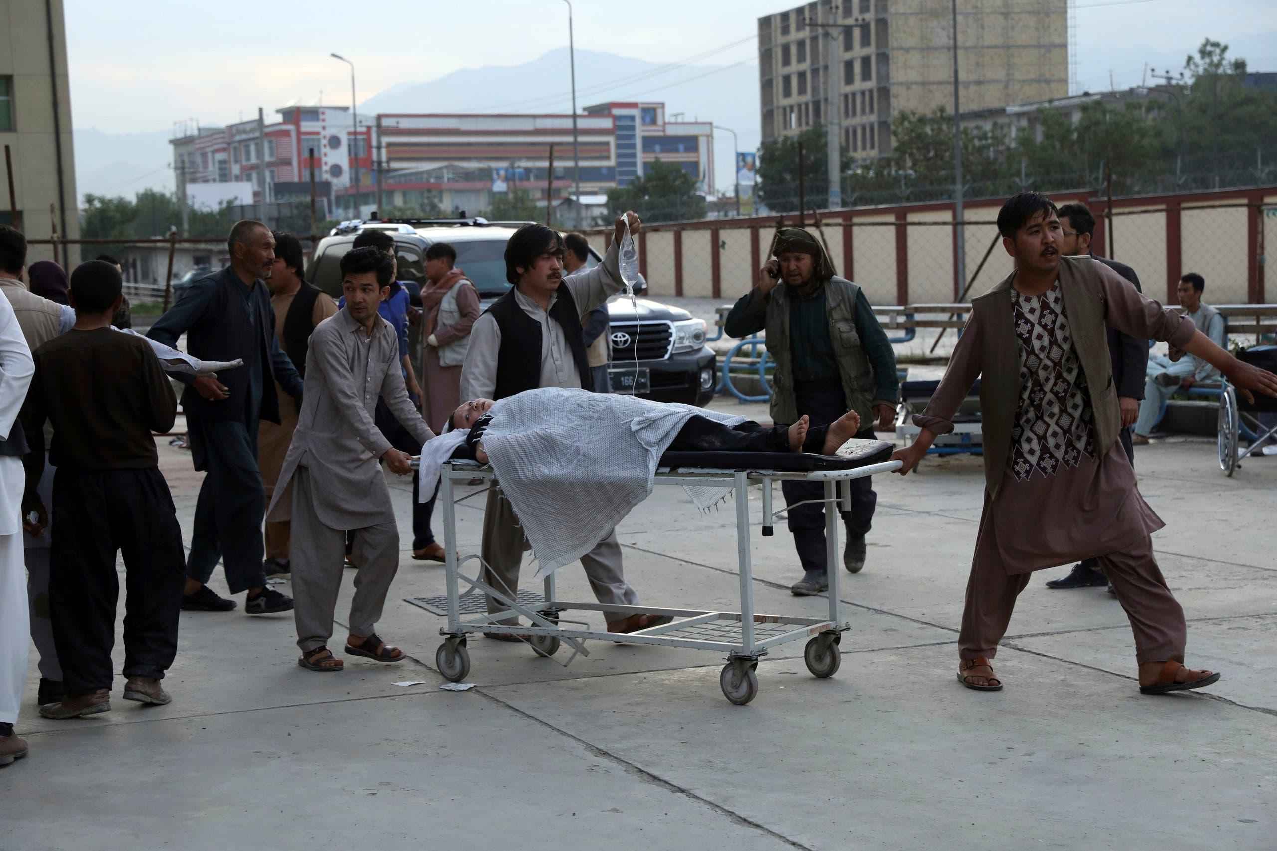 عکس از انفجار کابل