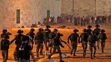 مسجد اقصیٰ میدان جنگ میں تبدیل، تصادم میں 175 فلسطینی زخمی