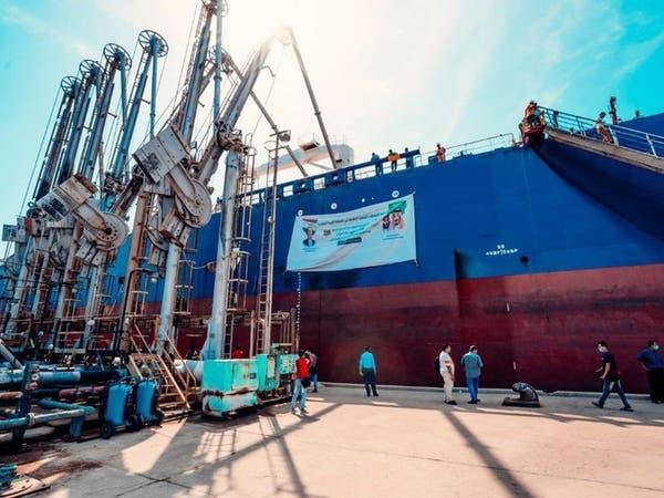 أولى دفعات منحة المشتقات النفطية السعودية تصل اليمن