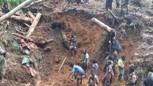 Guinean gold mine landslide leaves 15 people dead