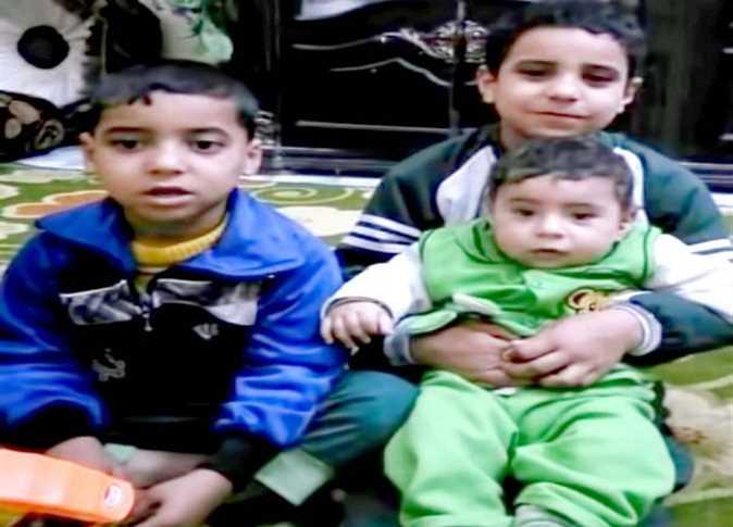 3 من الأطفال الذين قتلهم والدهم