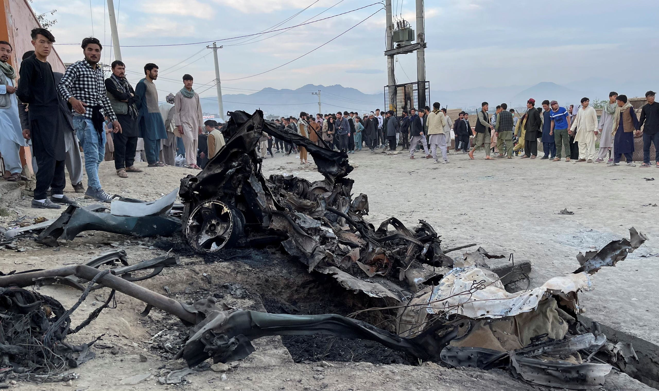 انفجار مقابل مکتب در کابل