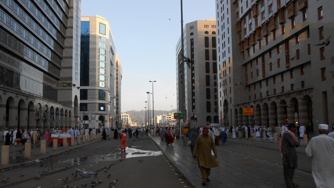 A general view of the Badaah area in Medina, Saudi Arabia. (Khadim Un Nabi Rao)