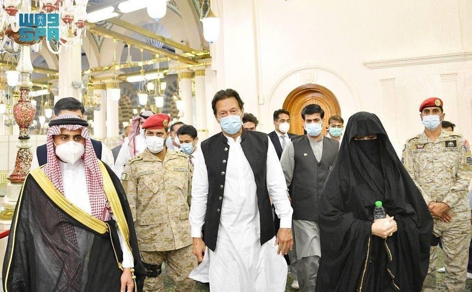 من زيارة خان للمسجد النبوي