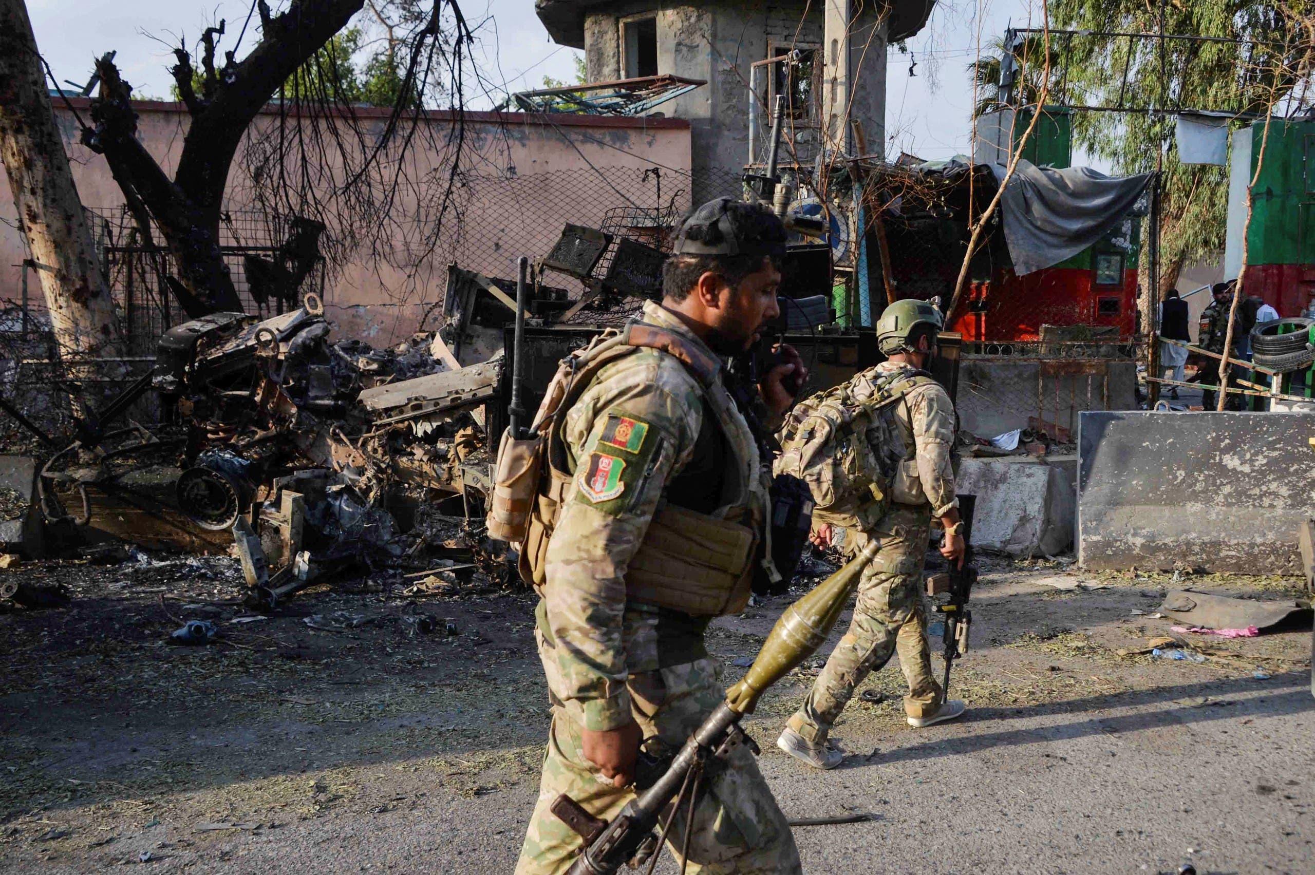 قوات من الجيش الأفغاني (أرشيفية- فرانس برس)