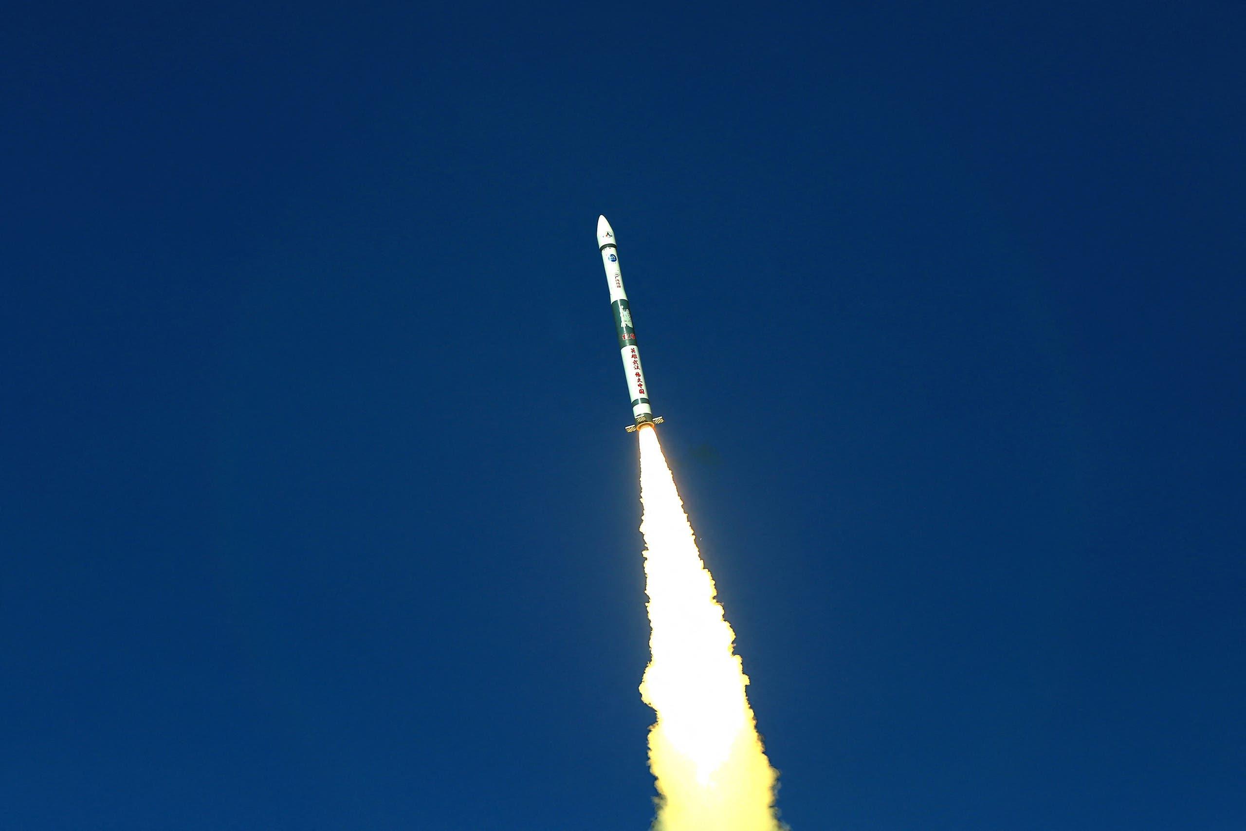 صاروخ صيني (أرشيفية- فرانس برس)