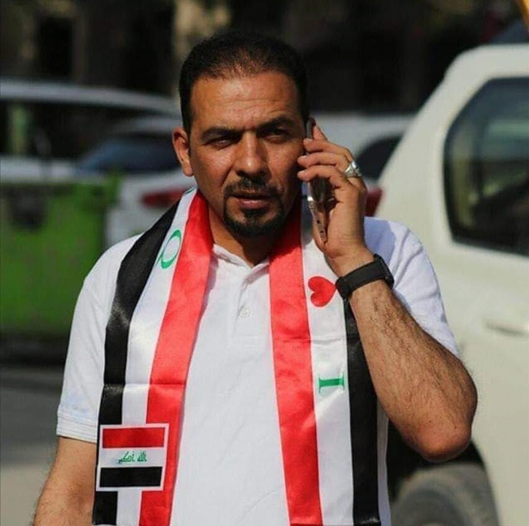 الناشط العراقي الراحل إيهاب جواد الوزني