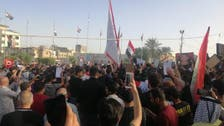 ویدیو؛ در پی ترور فعال عراقی معترضان کنسولگری ایران در کربلا را به آتش کشیدند
