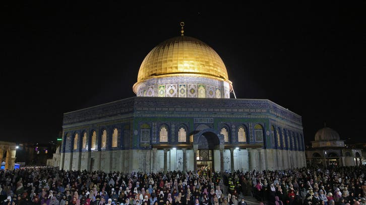 Clashes in Jerusalem on Muslim Laylat al-Qadr