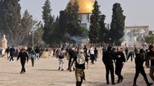 مسجداقصیٰ:اسرائیلی فورسزاور فلسطینیوں میں تازہ جھڑپوں میں سیکڑوں افراد زخمی