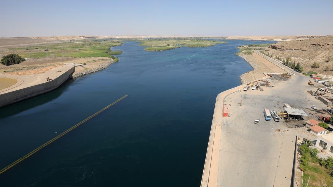 نهر الفرات في سوريا (رويترز)