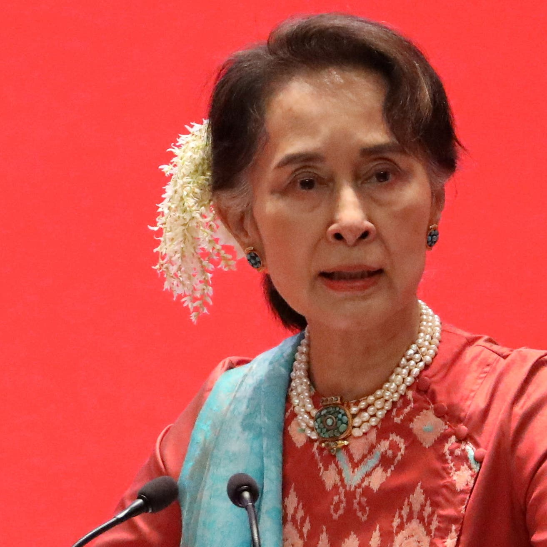 Myanmar junta leader says Aung Suu Kyi will soon appear
