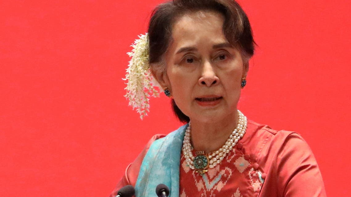 Myanmar's State Counsellor Aung San Suu Kyi attends Invest Myanmar in Naypyitaw, Myanmar, January 28, 2019. (File Photo: Reuters)