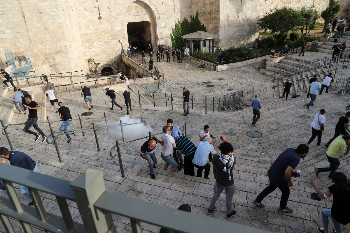 تظاهرات فلسطینی در بیت المقدس