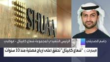 """رئيس """"شعاع"""" للعربية: إدارة الأصول دعمت تحقيق أعلى أرباح فصلية منذ 10 سنوات"""