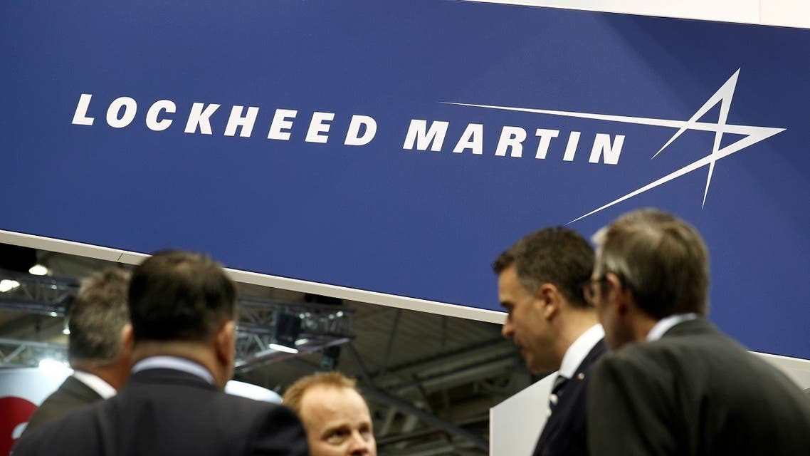 The logo of Lockheed Martin is seen at Euronaval, the world naval defense exhibition in France. (File Photo: Reuters)