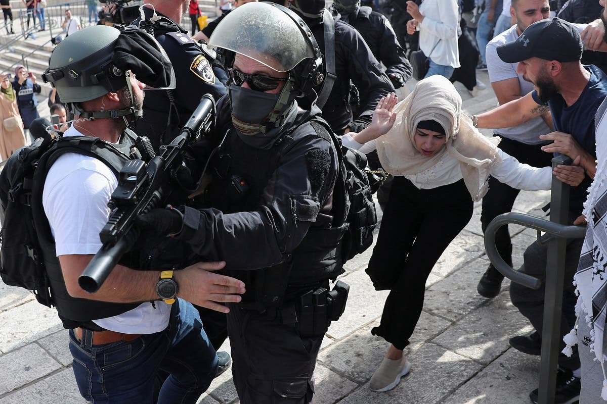 تظاهرات فلسطینیها در بیت المقدس