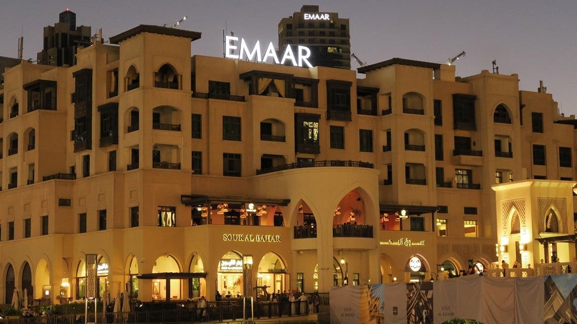 A logo of Dubai's Emaar Properties is seen on a building in Dubai, United Arab Emirates. (File photo: Reuters)