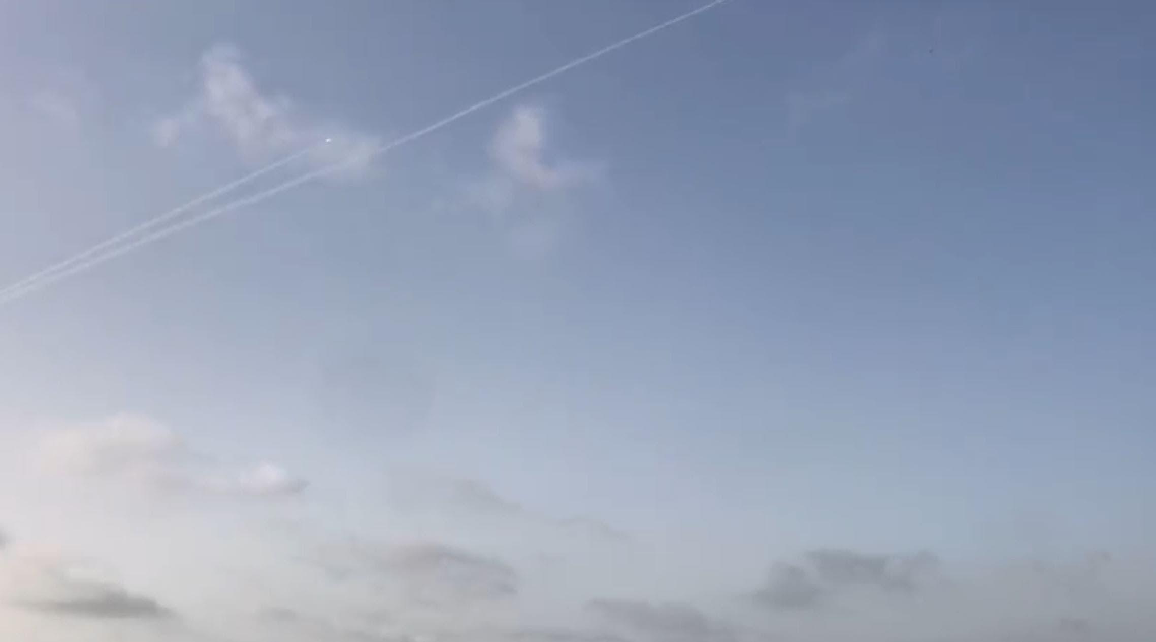 پرتاب موشک از غزه