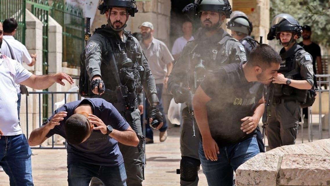 عناصر من الجيش الإسرائيلي في القدس - فرانس برس