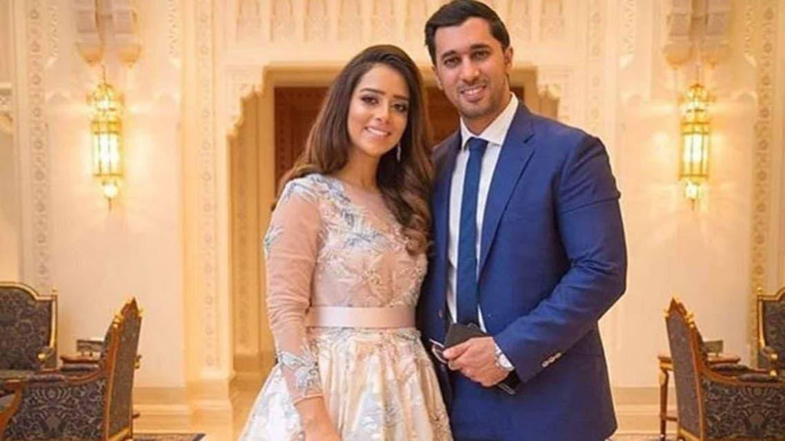 بلقيس وزوجها رجل الأعمال السعودي سلطان