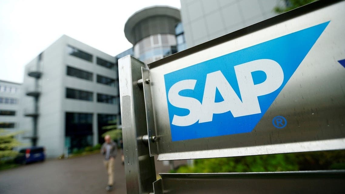The logo of German software group SAP is pictured at its headquarters in Walldorf, Germany. (File Photo: Reuters)