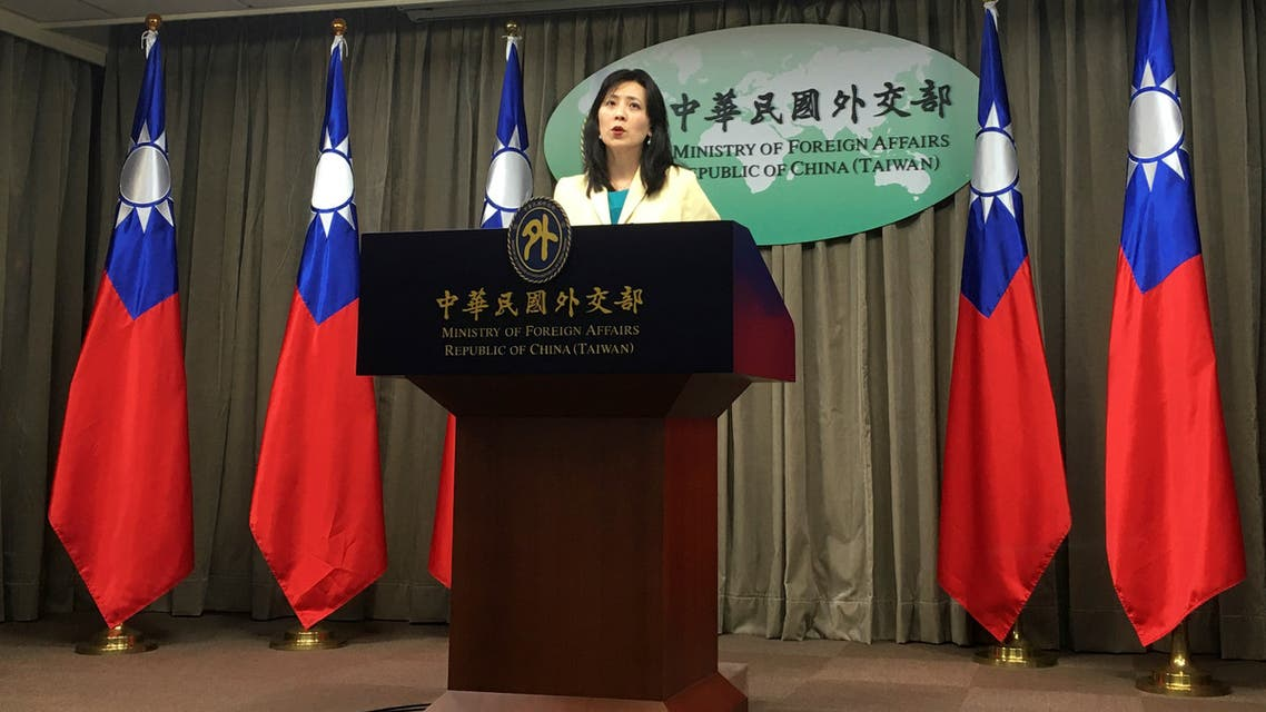 Taiwan Foreign Ministry Spokeswoman Joanne Ou speaks at a news conference in Taipei, Taiwan, February 11, 2020. (File photo: Reuters)