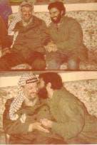 ابو وفا با یاسر عرفات