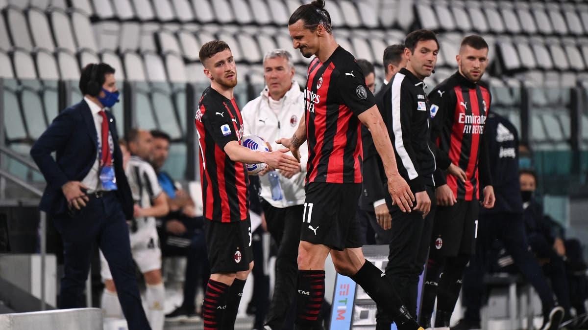 إبراهيموفيتش يغيب عن ميلان بسبب الإصابة