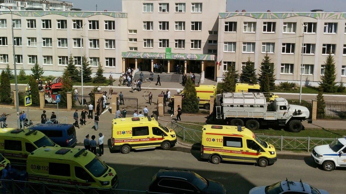 11 قتيلا على الأقل في إطلاق نار داخل مدرسة في روسيا
