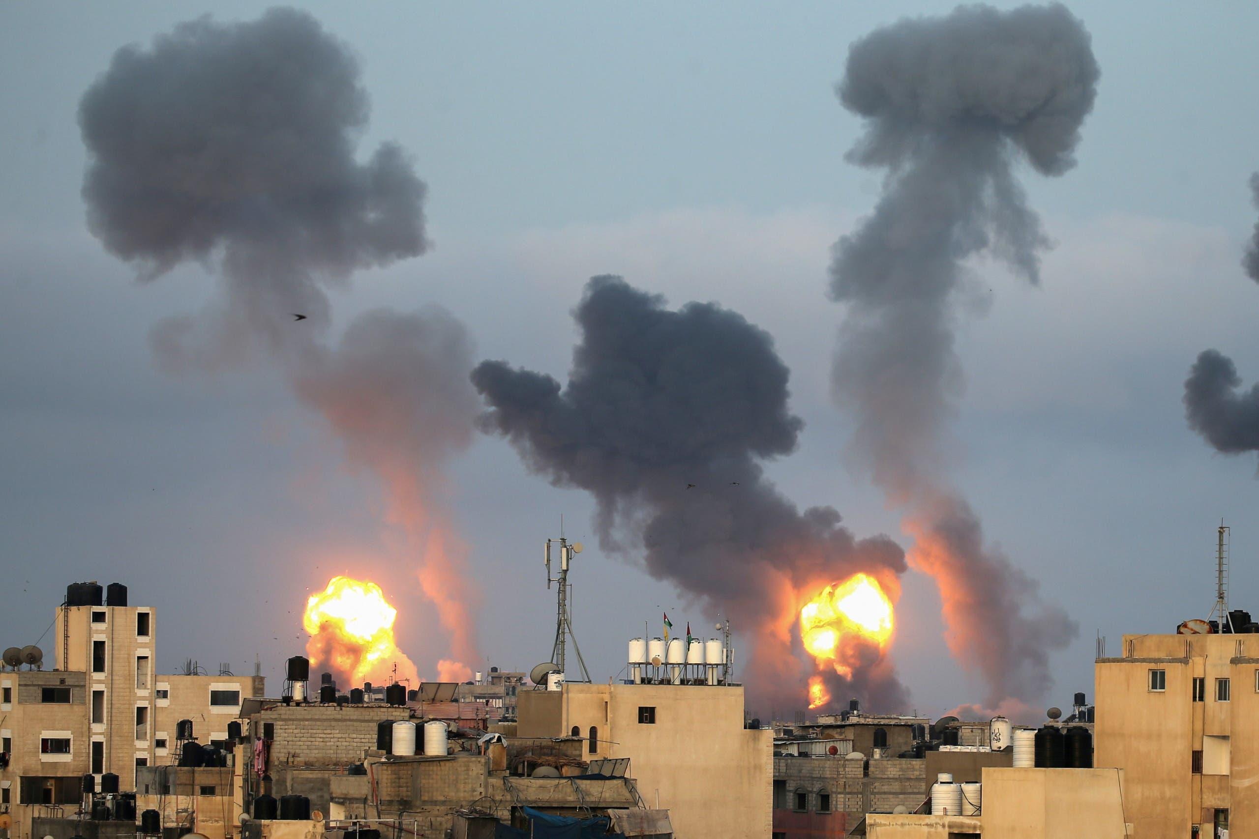 یمباران غزه