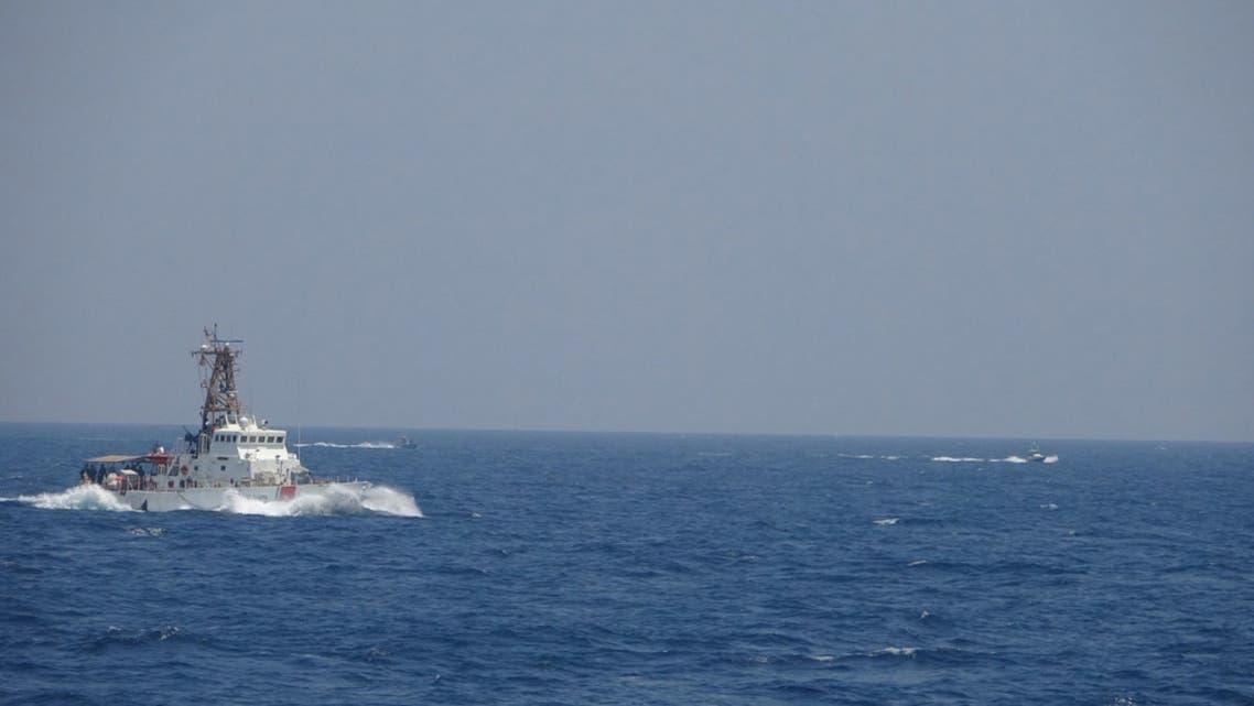 قایقهای سپاه-نیروهای آمریکایی