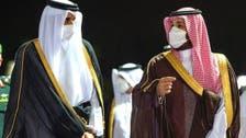 شاهزاده محمد بن سلمان از امیر قطر در جده استقبال کرد
