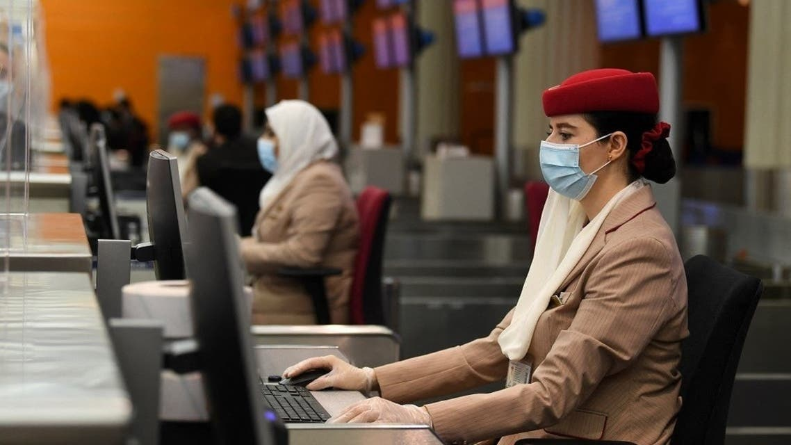 Emirates Airlines Hostess